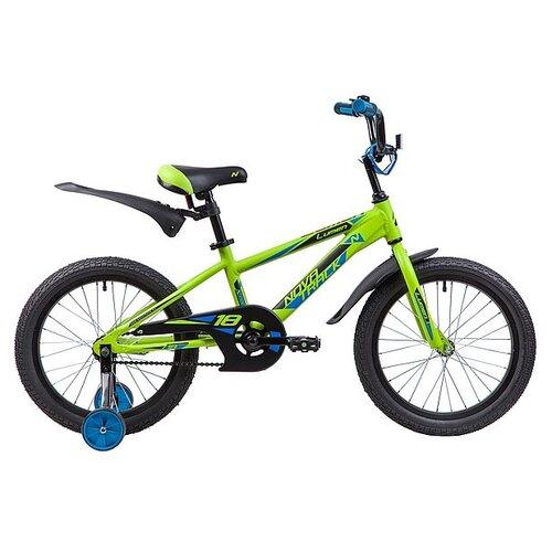 Фото - Детский велосипед Novatrack Lumen 18 (2019) зеленый (требует финальной сборки) детский велосипед novatrack twist 20 2020 зеленый требует финальной сборки