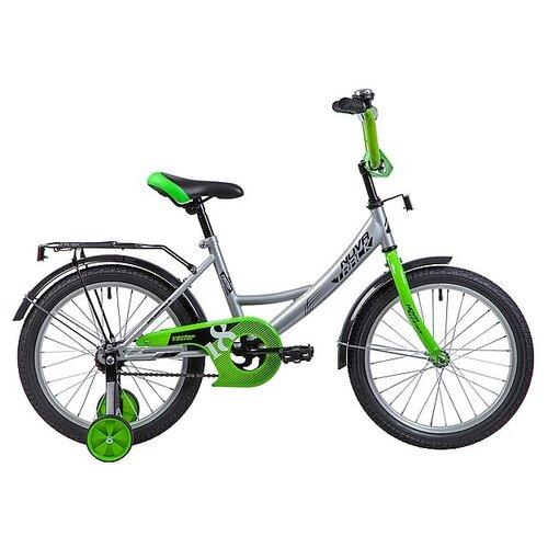 Детский велосипед Novatrack Vector 18 (2019) серебристый (требует финальной сборки) детский велосипед novatrack vector 18 2019 серебристый требует финальной сборки