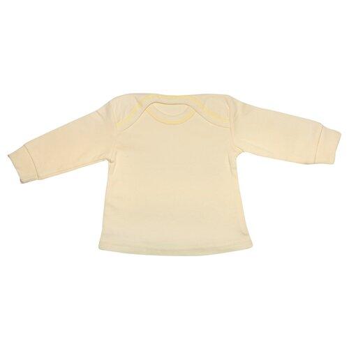 Купить Лонгслив Клякса размер 26-86, желтый, Футболки и рубашки
