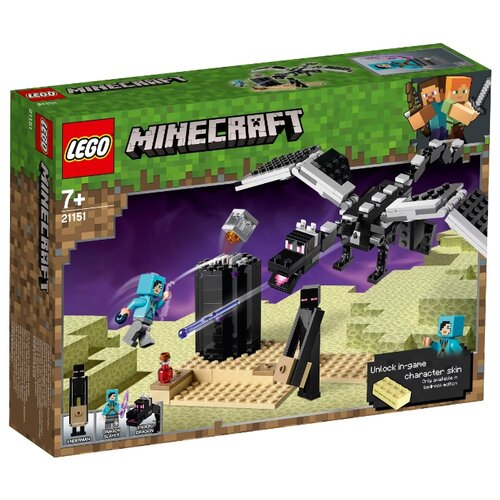 Конструктор LEGO Minecraft 21151 Последняя битваКонструкторы<br>