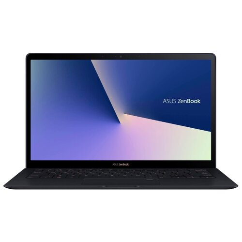 Ноутбук ASUS ZenBook S UX391FA-AH001R (Intel Core i7 8565U 1800 MHz/13.3/1920x1080/16GB/512GB SSD/DVD нет/Intel UHD Graphics 620/Wi-Fi/Bluetooth/Windows 10 Pro) 90NB0L71-M00540 темно-синий ноутбук asus zenbook ux333fn a3052r royal blue 90nb0jw1 m02180 intel core i7 8565u 1 8ghz 8192mb 512gb ssd no odd nvidia geforce mx150 2048mb wi fi bluetooth cam 13 3 1920x1080 windows 10 64 bit