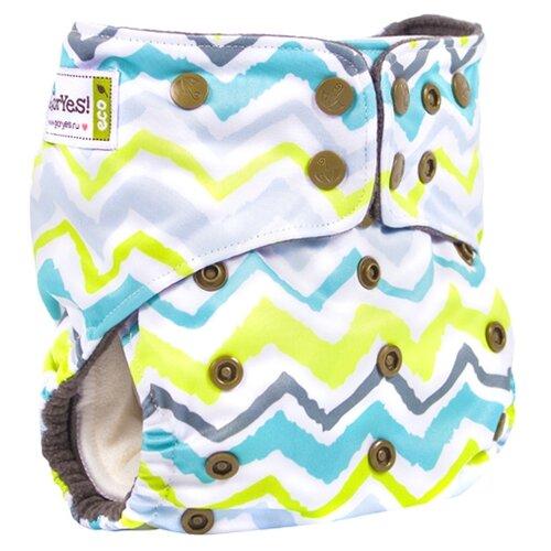 Купить GlorYes! подгузники Premium (3-18 кг) 1 шт. волна, Подгузники