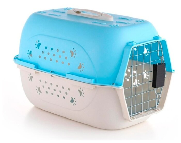 Клиппер переноска для кошек Пижон 4731749/4731750 48х33х31