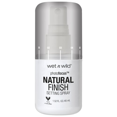 Wet n Wild спрей для фиксации макияжа Photo Focus Natural Finish Setting Spray 45 мл seal the deal
