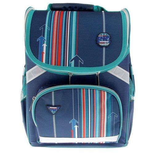 Фото - Hatber ранец Balance power NRk_13035, синий hatber ранец школьный hatber balance полиэстер 1 отд 3 кармана светоотраж друзья мультяшки