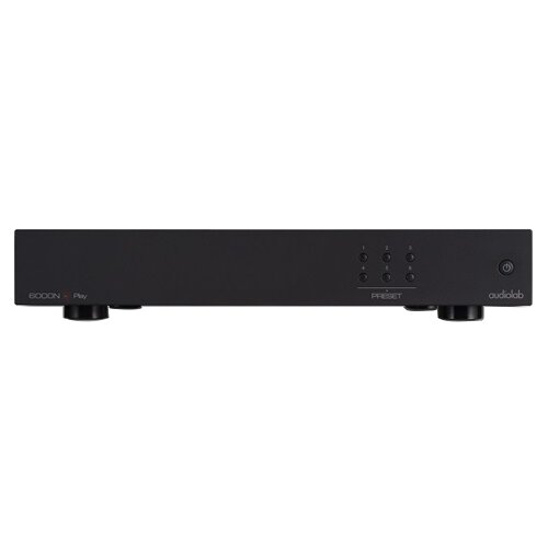 Фото - Сетевой аудиоплеер Audiolab 6000N Play, black сетевой аудиоплеер audiolab 6000n play silver