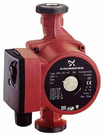 Циркуляционный насос Grundfos UPS 25-60 130 (90 Вт)