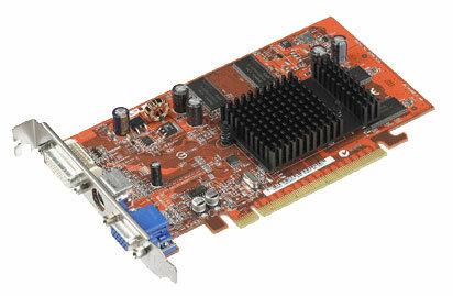 Видеокарта ASUS Radeon X300 325Mhz PCI-E 128Mb 400Mhz 128 bit DVI TV