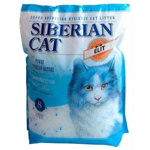 Впитывающий наполнитель Сибирская кошка Элита, 8 л