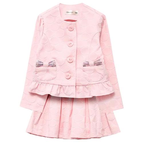 Купить Комплект одежды Fleur de Vie размер 98, розовый, Комплекты и форма