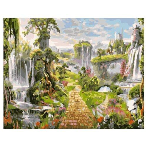 Фото - ВанГогВоМне Картина по номерам Парк водопадов, 40х50 см (ZX 22230) картина по номерам 30 x 40 см krym fn11