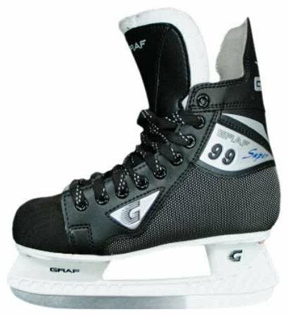 Детские хоккейные коньки GRAF Super 99 для мальчиков