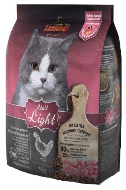 Корм для кошек Leonardo Adult Light (0.4