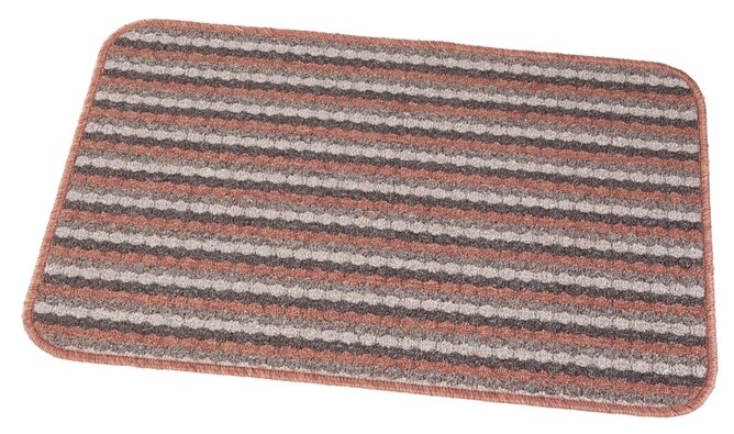 Придверный коврик RemiLing Pegasus (тип 1), размер: 0.8х0.5 м, красный/черный