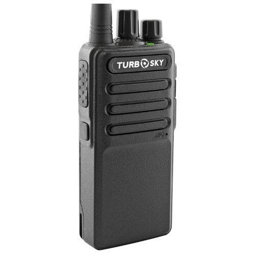 Рация TurboSky T1 черный