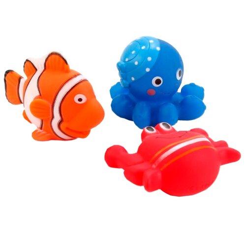 Набор для ванной Играем вместе 3 водных обитателя (В1582221)Игрушки для ванной<br>