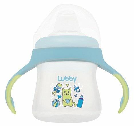 Поильник-непроливайка Lubby Малыши и малышки 16403, 150 мл