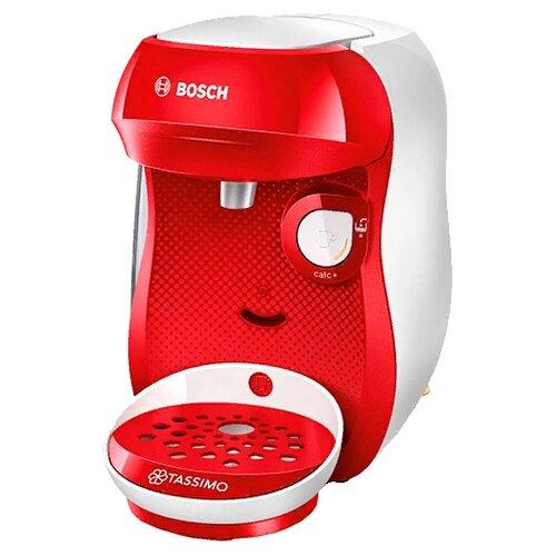 Кофемашина Bosch TAS 1001/1002/1003/1006/1007 Happy bright red