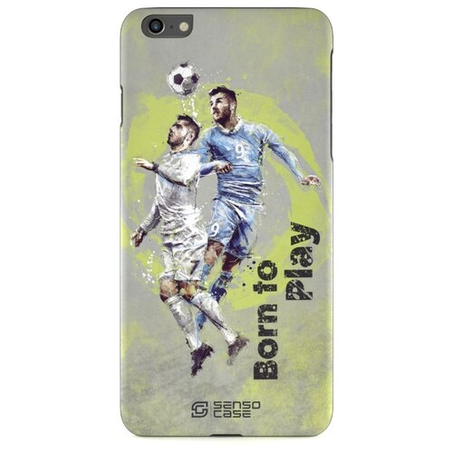 Чехол Sensocase 100152 + защитное стекло для Apple iPhone 6/6s Plus футбол защитное стекло caseguru для apple iphone 6 6s silver logo