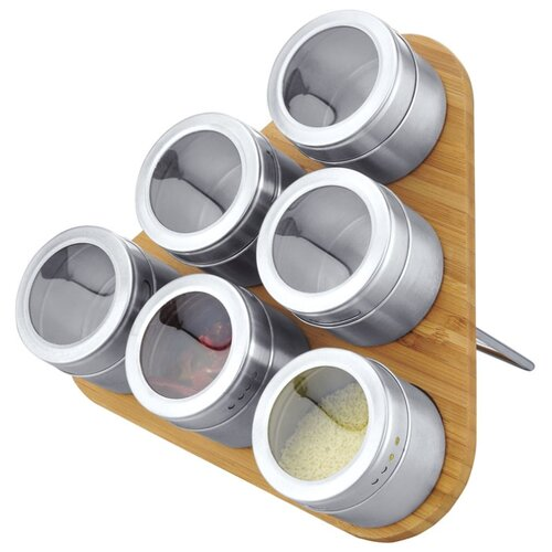 MAYER & BOCH Набор для специй 23520 бамбук/серебристый