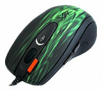 Мышь A4Tech XL-750BF Green-Black USB