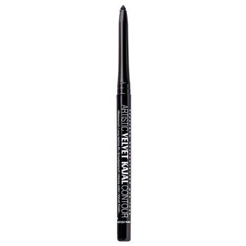 Relouis Карандаш механический для глаз Artistic Velvet Kajal Contour, оттенок 01 черный shik карандаш для глаз kajal liner оттенок 04 twinkle