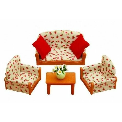 Купить Игровой набор Sylvanian Families Мягкая мебель для гостиной 2922/4464, Игровые наборы и фигурки