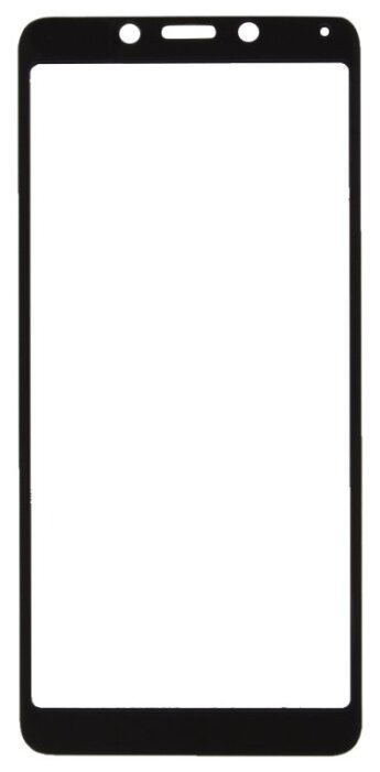 Защитное стекло Liberty Project Tempered Glass с рамкой для Xiaomi Redmi 6A белый