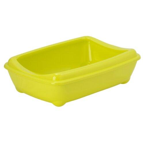 Туалет-лоток для кошек Moderna Arist-O-Tray Medium 42х31х13 см лимонный
