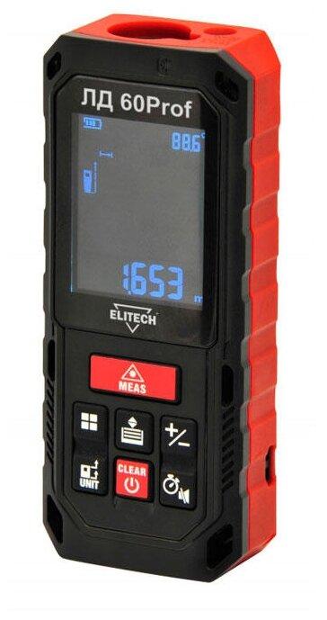 Лазерный дальномер ELITECH ЛД 60 Prof