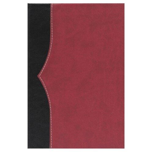 Купить Ежедневник Collezione Комбинедатированный, искусственная кожа, А5, 136 листов, черный/красный, Ежедневники, записные книжки