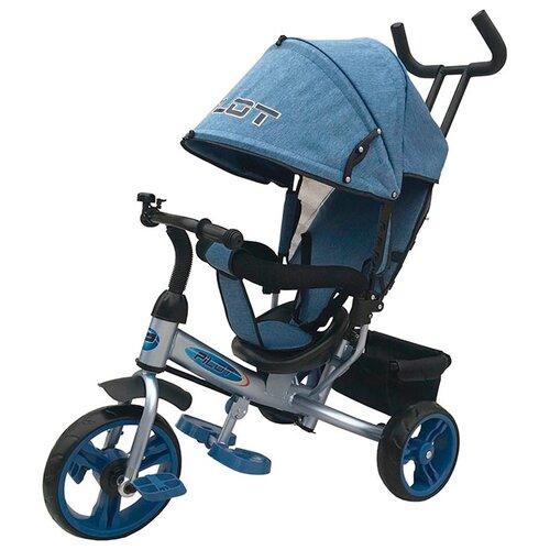 Трехколесный велосипед Pilot PT3 голубой трехколесный велосипед pilot pta3 2019 красный