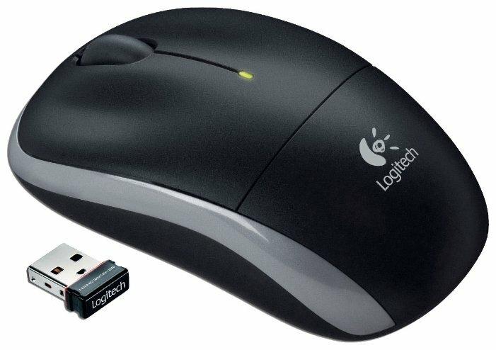Мышь Logitech Wireless Mouse M195 Black USB