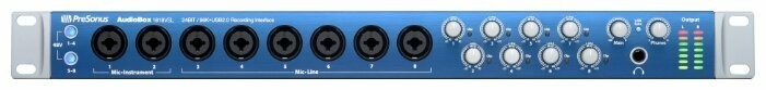 Внешняя звуковая карта PreSonus AudioBox 1818VSL