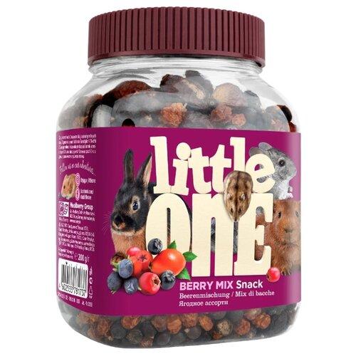Лакомство для кроликов, грызунов Little One Snack Berry mix 200 гЛакомства для грызунов<br>