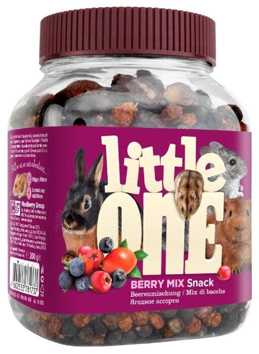 Лакомство для кроликов, грызунов Little One Snack Berry mix