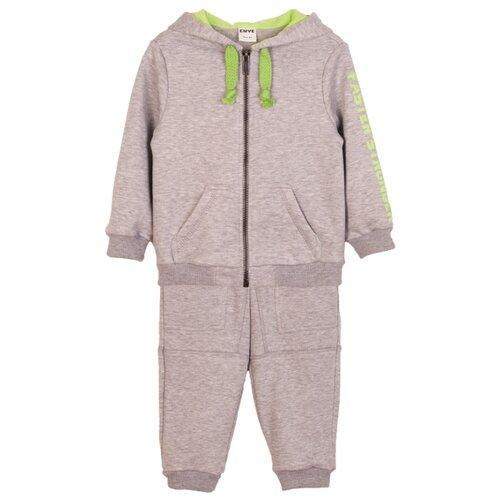 Купить Комплект одежды ЁМАЁ размер 98, серый, Комплекты и форма