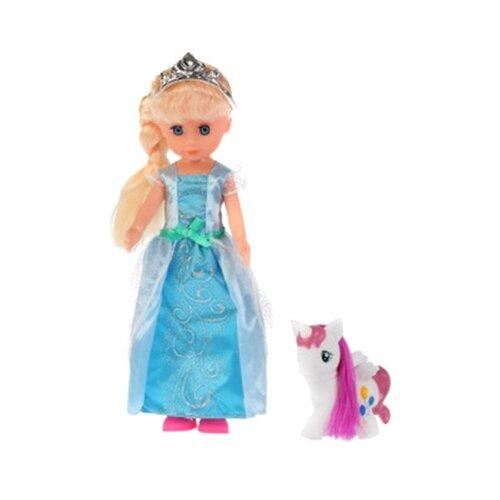 Купить Интерактивная кукла Принцесса Елена с пони и аксессуарами, 36 см, EL36601-RU, Карапуз, Куклы и пупсы