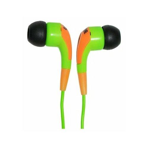 Наушники Fischer Audio JB Three, yellow/green наушники fischer audio fa 565 grey green