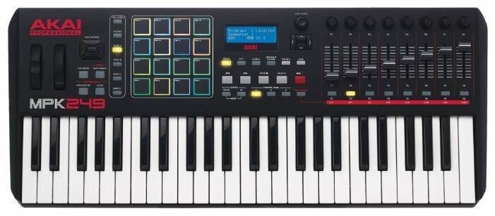 Клавиатура MIDI AKAI PRO MPK249 49 клавиш