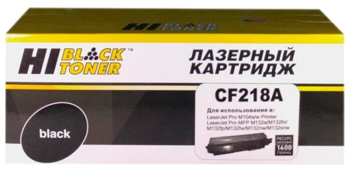 Картридж Hi-Black HB-CF218A, совместимый