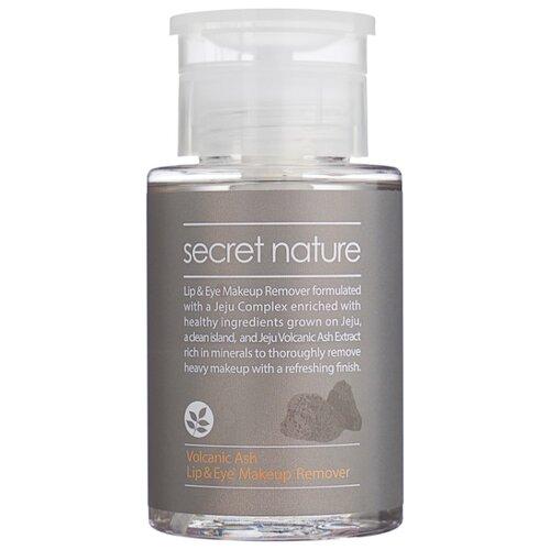 Secret Nature жидкость для снятия макияжа с глаз и губ с вулканическим пеплом, 150 млОчищение и снятие макияжа<br>