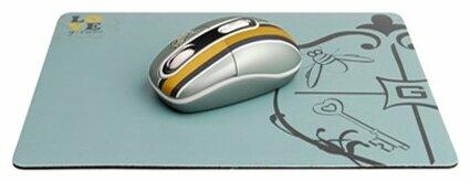 Мышь G-CUBE G4MR-1020RR Grey-Gold USB