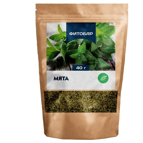 Чайный напиток травяной Соик Фитобар №11 Мята, 40 г