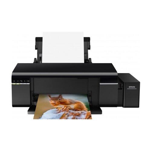 Фото - Принтер Epson L805 черный принтер epson l805 c11ce86403