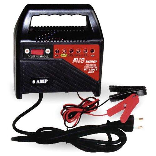 Зарядное устройство AVS Energy BT-1206T черный зарядное