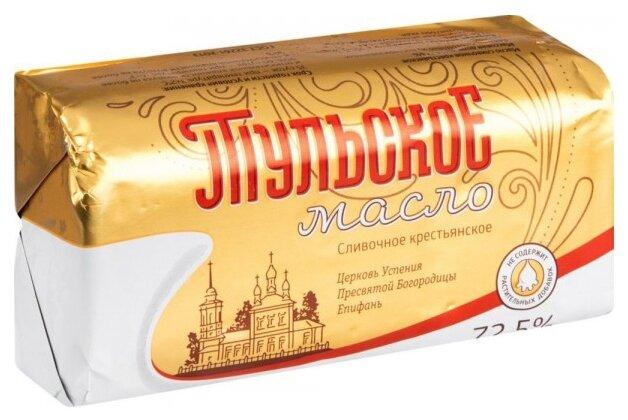 Тульское Масло сливочное Тульское 72.5%, 400 г
