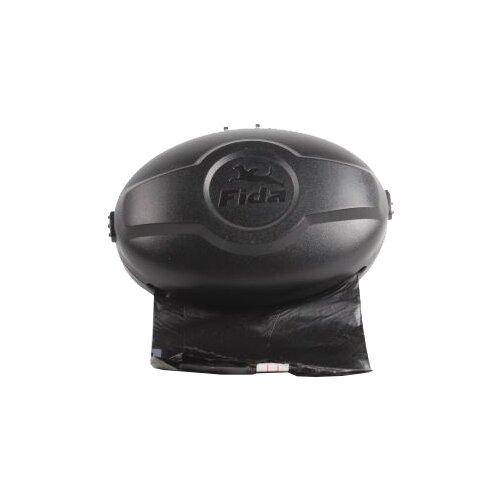 Контейнер для пакетов для собак Fida Extendable для средних пород черный черный