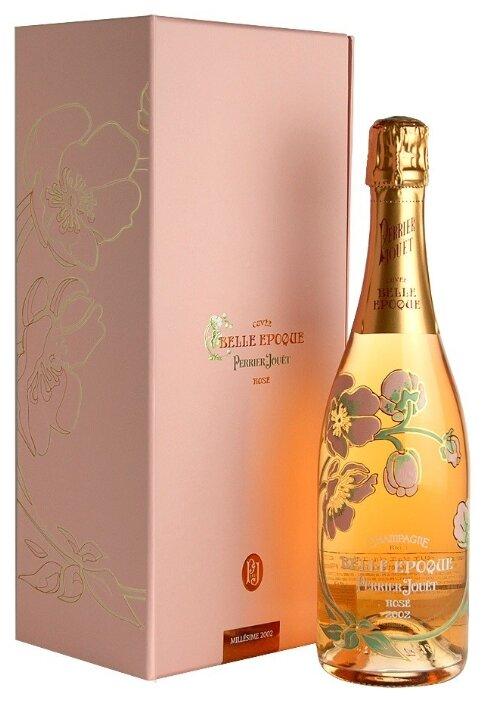 Шампанское Perrier-Jouet Belle Epoque Rose, 0.75 л, подарочная упаковка