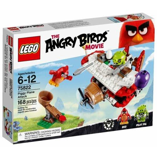 Купить Конструктор LEGO The Angry Birds Movie 75822 Атака свинского самолета, Конструкторы